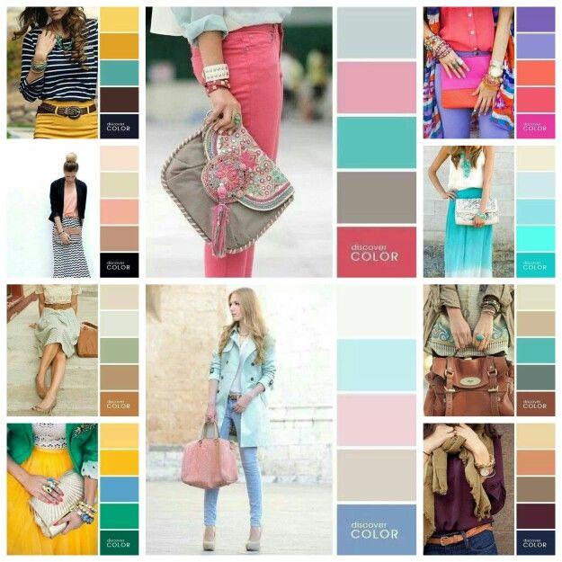 Barevné kombinace oblečení